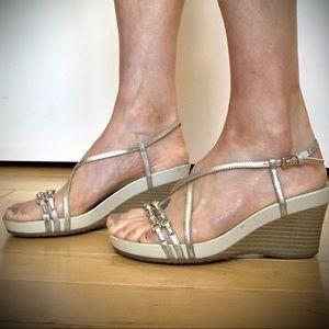 Geox Strappy Wedges